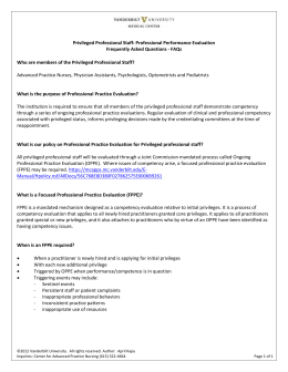 standards boosterpak for focused professional practice evaluation