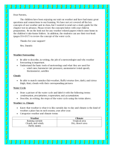 Weather Study Guide and note USE