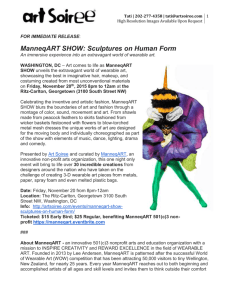 ManneqART SHOW Press Release