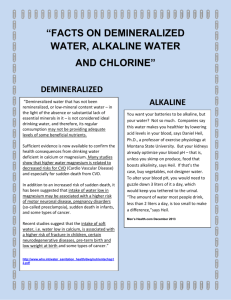 Water Articles