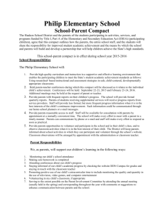 Philip Elementary School Parent Compac