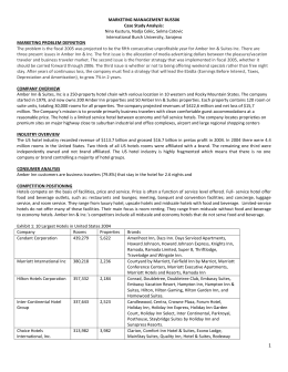 marketing management case study analysis Msc international business management faculty of professional studies quantitative modelling for research (qmr) questionnaire.