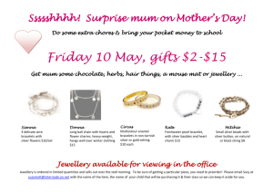 Ssssshhhh! Surprise mum on Mother`s Day!