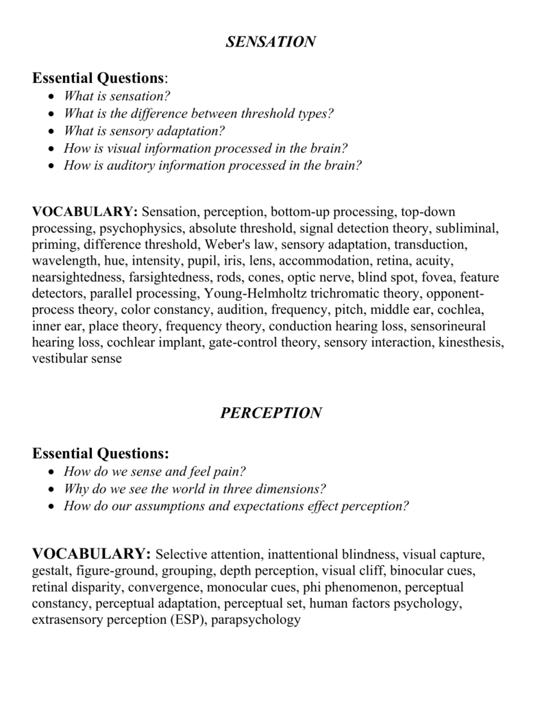 types of monocular cues