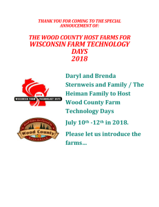 For Details - Wisconsin Farm Technology Days