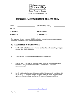 Sample Medical Inquiry Form