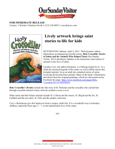 Holy Crocodile! Stories of Saints and the Animals Who Helped (DOC)