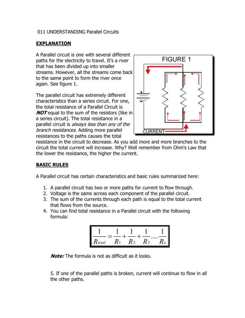 011 understanding parallel circuits