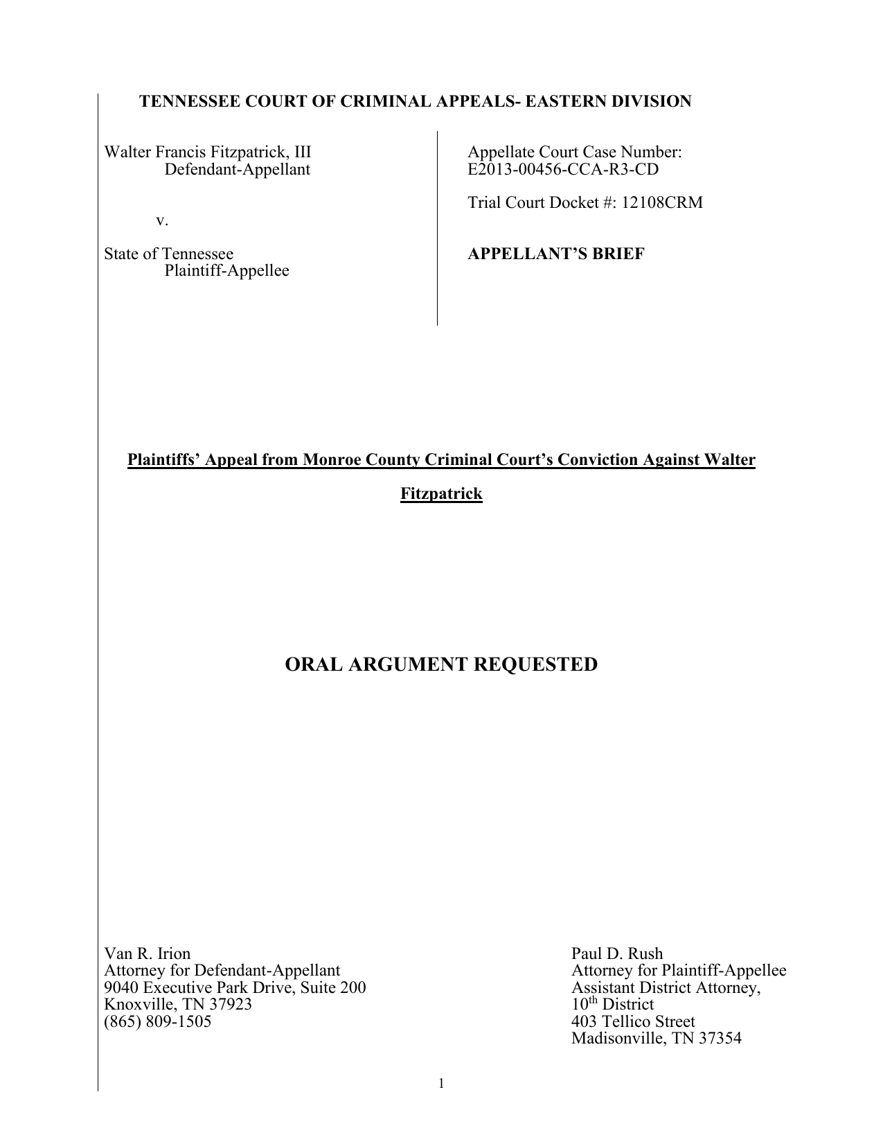 Fitz Appeal Brief 4 4
