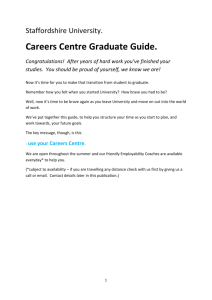 View a text only version of our Graduate Guide