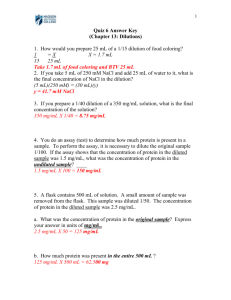 Answer Key - Bio-Link