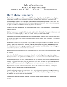 BJ`s Cowboarding herd share summary