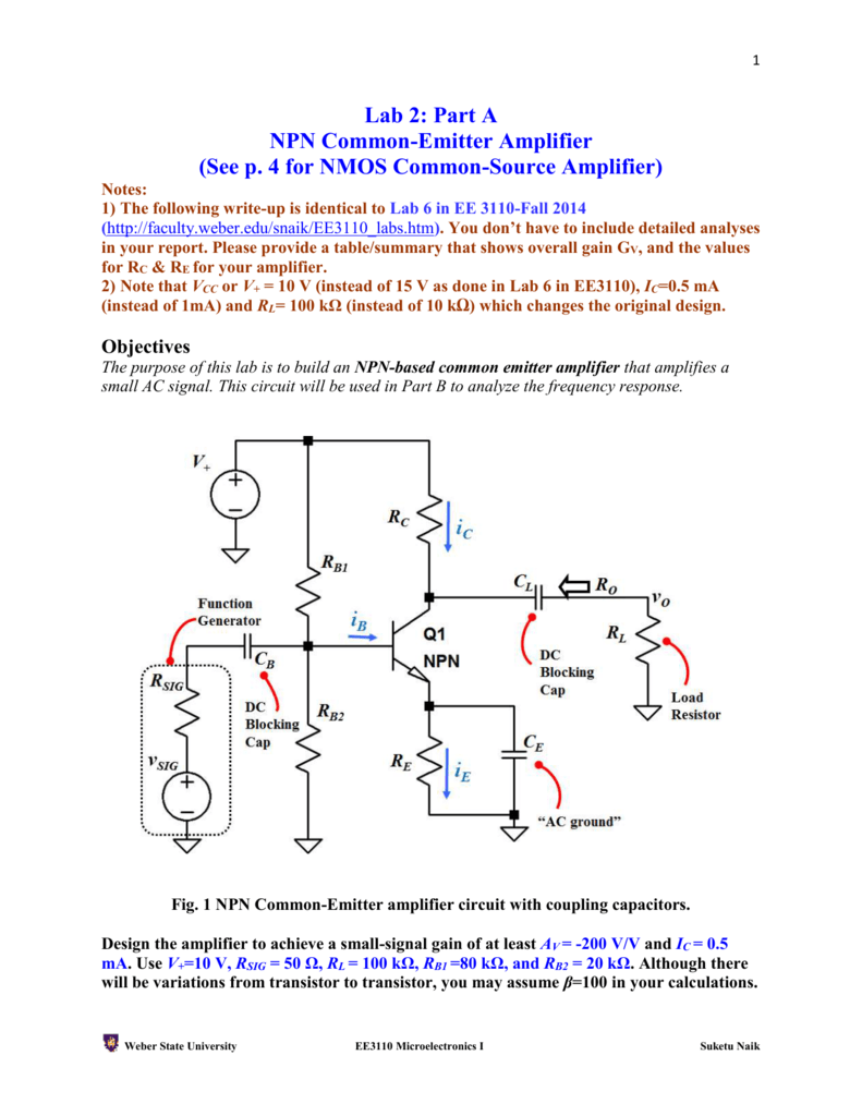 Lab 1 Using Ltspice Or Multisim For Simulation Ac Circuit Calculator