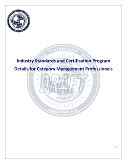 Learning Program Detailed Requirements Certified Professional