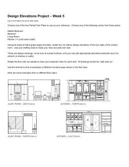Project - Design Elevations