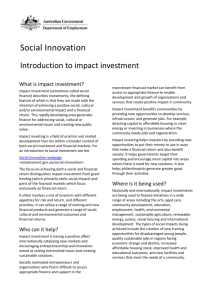 DOCX file of Introduction to impact investment