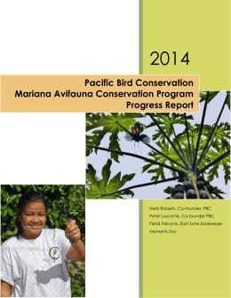 File - Pacific Bird Conservation