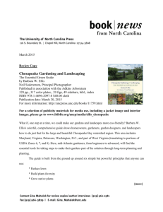 CHESAPEAKE GARDENING AND LANDSCAPING Book