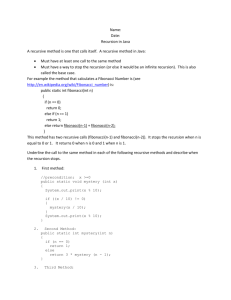 RecursionWorksheet