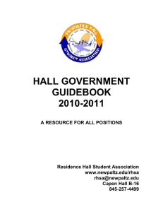 Hall Government Guidebook!