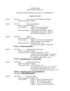 Course Outline 2003
