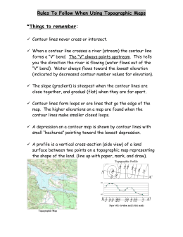How To Draw A Cross Section From A Topographic Map.Draw A Cross