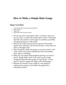How to Make a Simple Rain Gauge