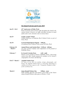 Detailed Calendar of Events 2015