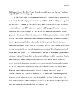 Sample Annotated Bibliography