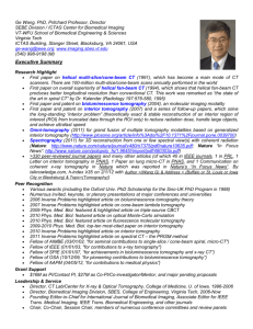 PHS 398 (Rev. 9/04), Biographical Sketch Format Page