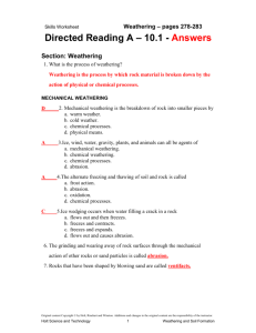 10. 1 Directed Reading Answer Key