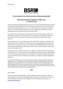 PR 2012.02.07 Press statement from British Society for