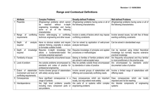 Range and Contextual Definitions