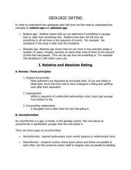 Geologic Time: Dating - Notes