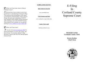 County Seal - Cortland County