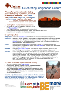 Celebrating Indigenous Culture` primary school