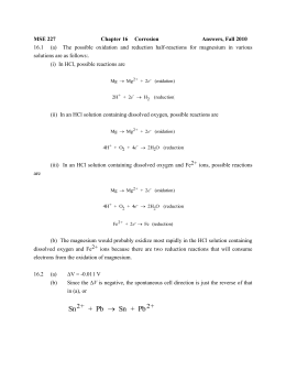 MSE 227 HW 11 Answers F10
