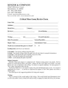 the Critical Mass Review Form