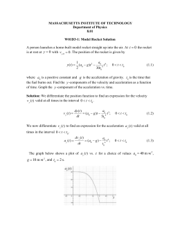 In-Class Problems: Static Equilibrium Solutions
