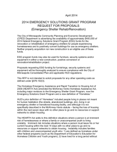 2003 emergency shelter grant program