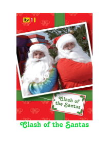 CLASH OF THE SANTAS
