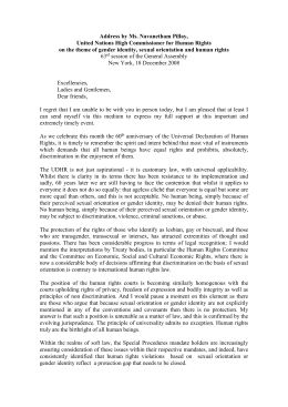DRAFT 1 - Office of the High Commissioner on Human Rights
