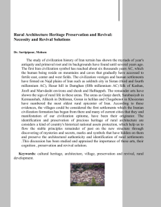 Rural Architecture Heritage Preservation and Revival