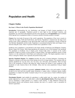 an introduction to the important issue of rapid growth of human population Population and demographic variables   malthus predicted that the human population would continue to increase exponentially  rapid population growth.