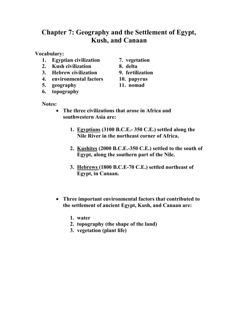 Chapter 7 student notes