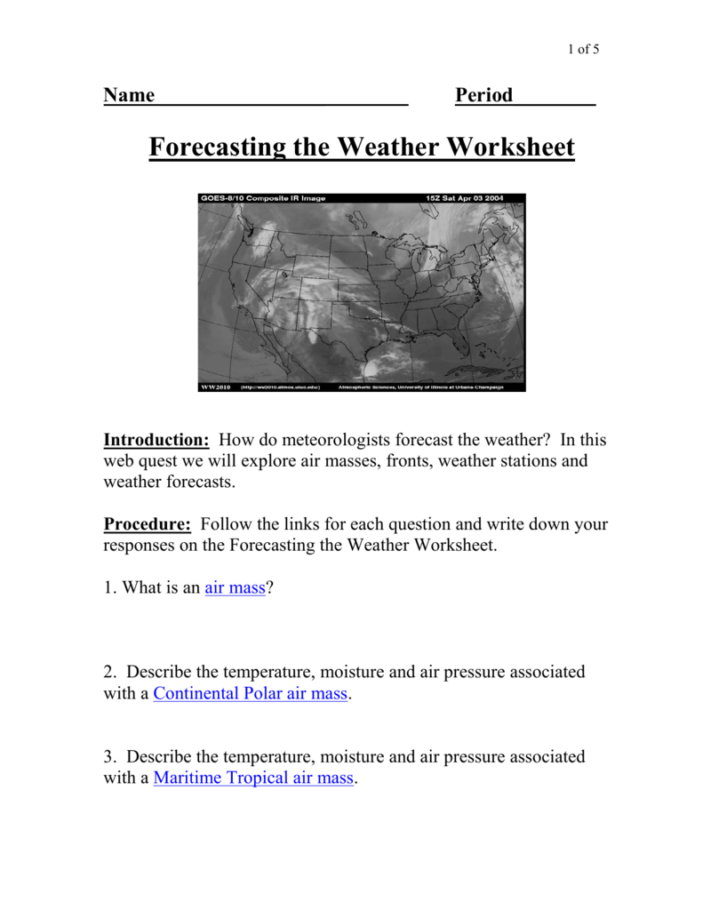 Forecasting-the-Weather