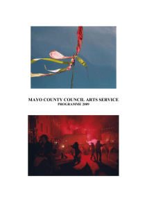 mayo county council arts service