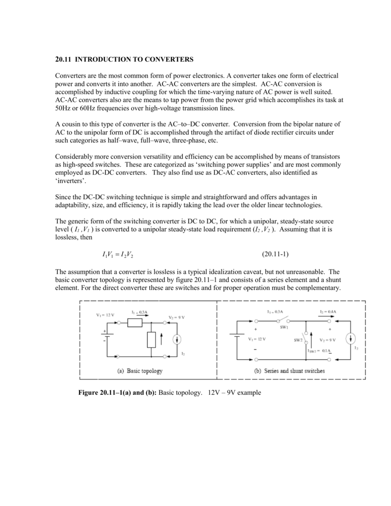 Ch20sec11 Full Bridge Converter Schematic Diagram In Dc Conversion Circuit