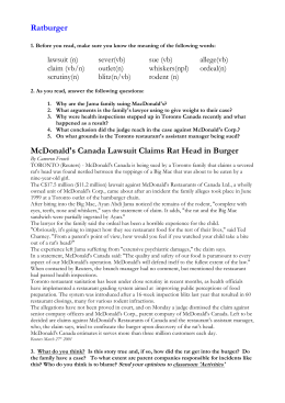 analysis of mcdonalds leadership style The innovation journal: the public sector innovation journal, volume 14(1), 2009, article 3 2 leadership and organizational strategy introduction a city struggles to ensure the lowest bid to repave downtown's main street is the most.