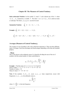 chapter 2 lecture notes and exercises